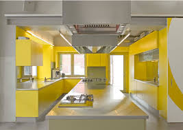 small yellow kitchen ideas