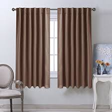 Blackout Kitchen Curtains Blackout Curtains And Drapes For Kitchen Cappuccino