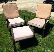 Recover Patio Chairs Lovely Patio Seat Cushions Or Rocking Patio Chair Awesome Aluminum