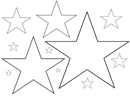 star coloring pages for preschoolers eson me