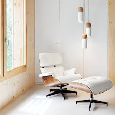 Lounge Ottoman White Eames Lounge Chair And Ottoman Color Home Ideas Collection