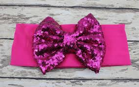 wholesale headbands wholesale sparkle sequin bow headbands bow headwrap big bow