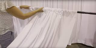 Curtains For Wedding Backdrop How To Set Up A Diy Wedding Backdrop The Budget Savvy Bride