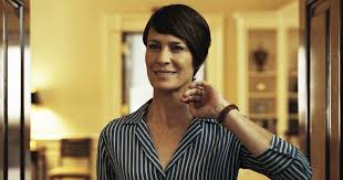 house of cards robin wright hairstyle style story claire underwood atelier doré