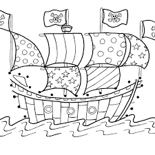 pirate ship coloring page download free printable coloring pages