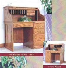 small roll top desk small roll top desk secretary coaster palmetto traditional oak