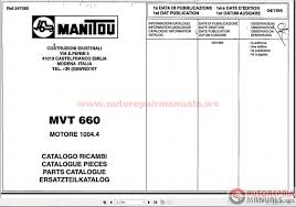 manitou forklift parts manual auto repair manual forum heavy