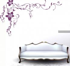 wall decor floral flower wall decal wall sticker floral wall