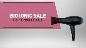 bio ionic whisper light hair dryer bio ionic sale hair dryers deals great deal on bio ionic goldpro