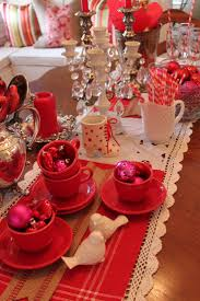 128 best table decor valentine images on pinterest red tables