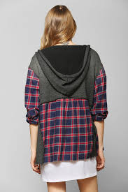 bdg saturday morning hooded flannel shirt a top pinterest