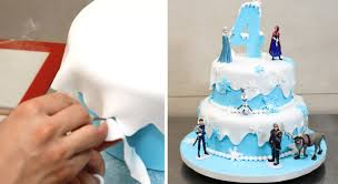 how do you make a cake how to make a frozen disney cake by cakesstepbystep
