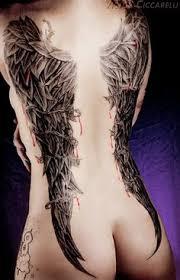 wings 3d designs back shoulder artwork for and