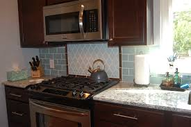 exciting home interior design using beach glass backsplash tile