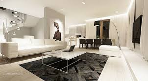 Modern Room Decor Modern Monochrome Living Room Decor Interior Design Ideas
