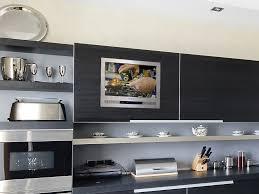 under cabinet television for kitchen 17