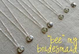 ideas to ask bridesmaids to be in wedding bridesmaid gift ideas 20 drops necklace