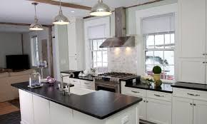 Kitchen Built In Cabinets by Built In Stove Kitchen Painted White Kitchen Cabinets Wooden