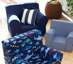 Pottery Barn Kids Everyday Chair Contemporary Armchair Cotton Child U0027s Navy Anywhere Chair