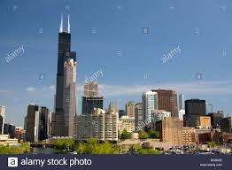 willis tower formerly known as the sears tower located along the