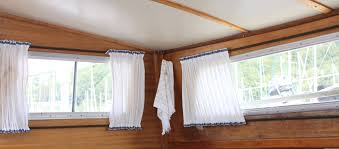 April Blinds Small Boat Projects Making Life Aboard Easier From Curtains To