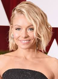how does kelly ripa curl her hair short wavy edgy hairstyles beauty riot