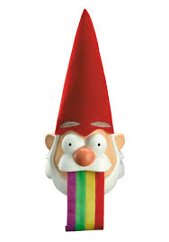 Lawn Gnome Halloween Costume Gravity Falls Barfing Gnome Mask