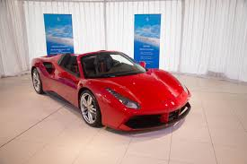 ferrari supercar 2016 ferrari 488 spider revealed in australia