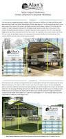 12x24 Carport Metal Carport Prices Steel Carport Prices Alan U0027s Factory Outlet