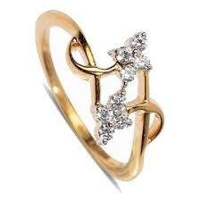 finger ring designs for diamond finger ring by kaara san212g gold rings homeshop18