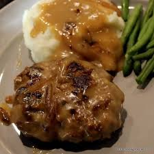 cuisine steak fashion salisbury steak with gravy 101 cooking for two