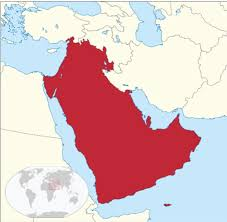 Map Grant Map Of The Fictional United Arab Kingdoms If Uk And France