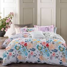 Cotton Queen Duvet Cover Floral Duvet Covers Tropical Leaf Print Bedding Sets Queen Bedding