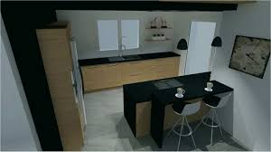 cuisine noir mat et bois table de cuisine grise inspirational impressionné cuisine noir mat