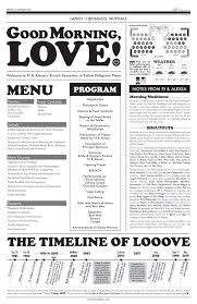 newspaper wedding programs 35 best wedding engagement newspaper templates images on