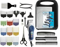wahl 79300 1001 color pro hair clipper kit 26 piece kit new
