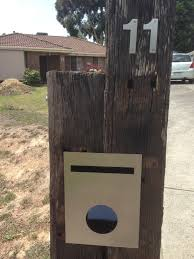 letterbox old railway sleepers landscaping ideas pinterest
