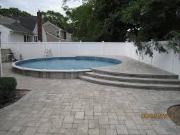 16 best semi inground pool design images on pinterest pool