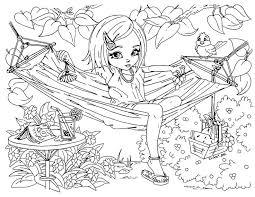 free printable coloring pages teenage girls u2013 art valla