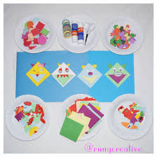 kids craft making bookmarks party craft kids art activity