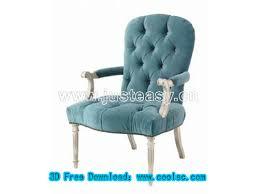 chair soft chair chairs furniture model 3d