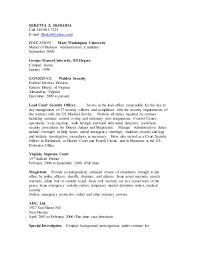 Special Police Officer Resume Cover Letter For Resume Nurse Practitioner Esl Definition Essay