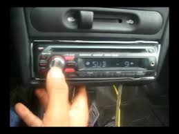 autoestereo sony cdx gt270 10 youtube