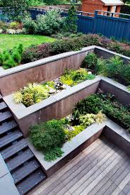 Tiered Garden Ideas 33 Best Built In Planter Ideas And Designs For 2018