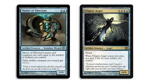 Mtg Card Design Hybridizing Gold Magic The Gathering