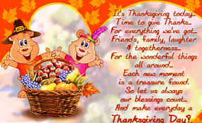 thanksgiving day 2015 sms wishes messages sayings greetings