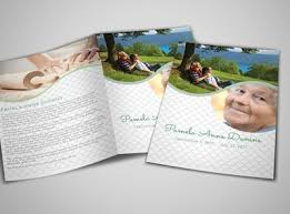 Funeral Program Printing Services Religion U0026 Organizations Brochure Templates Mycreativeshop