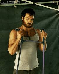 Hairy Men Meme - henry cavill muscles gif find download on gifer