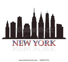 new york skyline silhouette stock images royalty free images