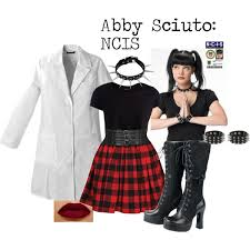 Halloween Lab Coat Costume Diy Halloween Abby Sciuto Polyvore